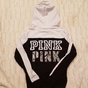 "Pink vs ""PINK PINK"" Zip-up Hoodie X-Small"